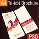 Tri-Fold Brochure PSD Template - GraphicRiver Item for Sale