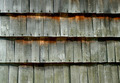 Old cedar shake wall background  - PhotoDune Item for Sale