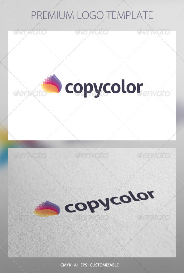 Copy Color - Abstract Logo Template - Abstract Logo Templates