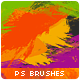 Bundle (3in1) 58 Paint Splashes Photoshop Brushes - GraphicRiver Item for Sale