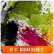 55 Splatters, Smudges & Splashes Photoshop Brushes - GraphicRiver Item for Sale