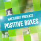 Positive Boxes - VideoHive Item for Sale