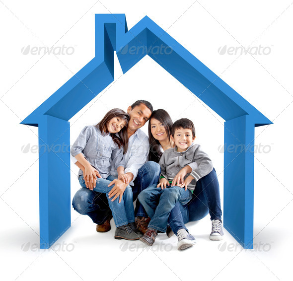 Family house - Stock Photo - Images