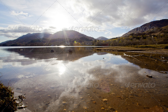 Loch Shiel Lake - Stock Photo - Images