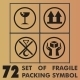 72 Set of Fragile Packing Symbol - GraphicRiver Item for Sale