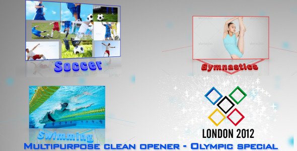 After Effects Project - VideoHive Multi Video Sports Package Olympics Special 2574328