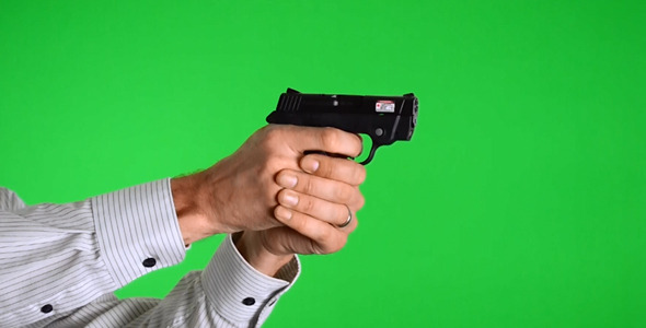 VideoHive Shooting Smith & Wesson Bodyguard 380 Pistol 4-Pack 2573507