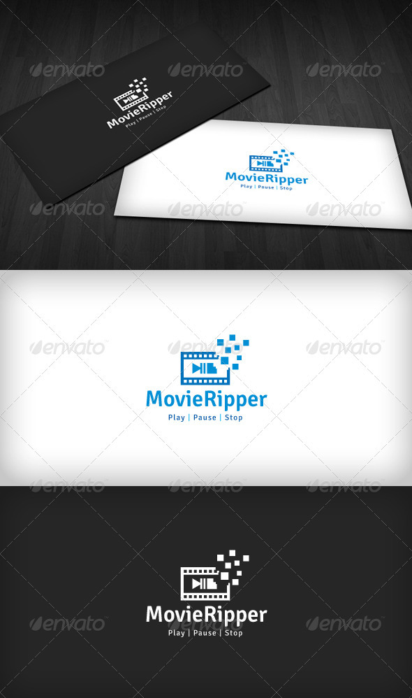 Movie Ripper Logo - Objects Logo Templates