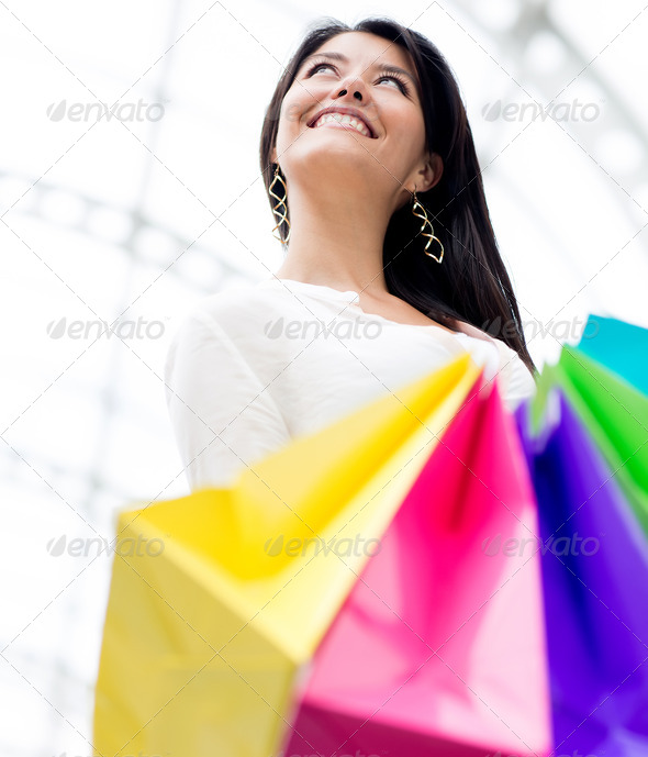 Female shopper - Stock Photo - Images