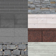 Stone Wall textures 01 - 3DOcean Item for Sale