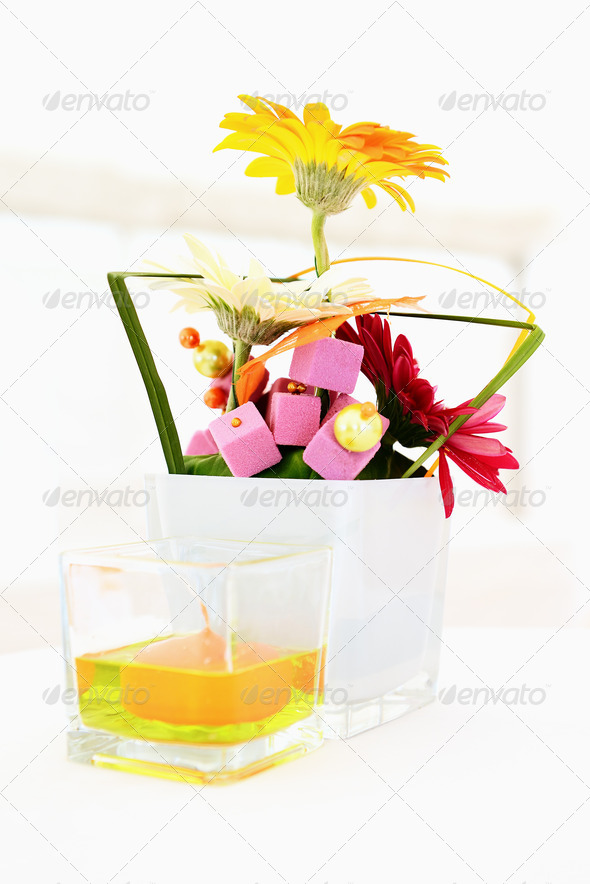 decoration for a wedding - Stock Photo - Images