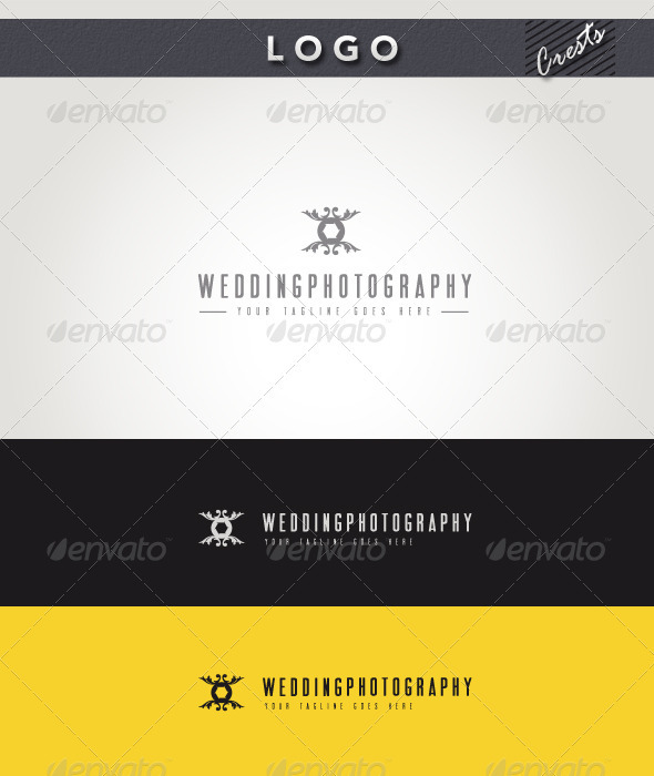 Wedding Photography Logo - Crests Logo Templates
