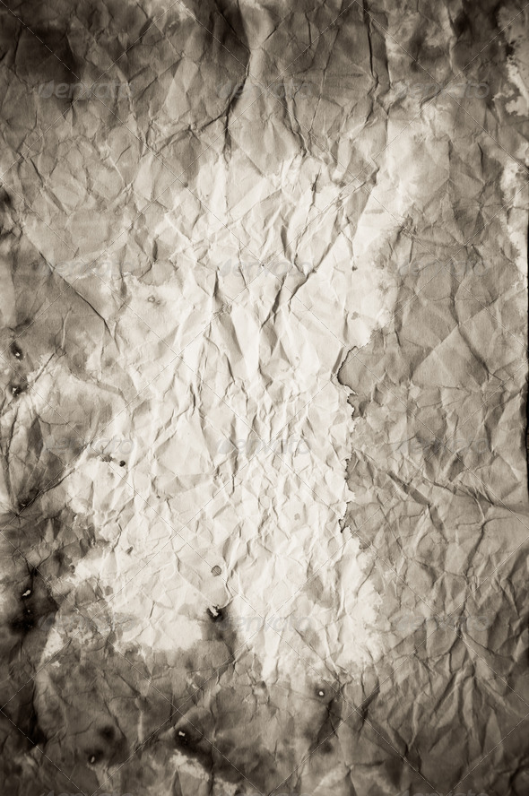 Old vintage paper texture or background - Stock Photo - Images