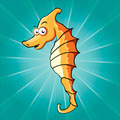 Funny cartoon seahorse - PhotoDune Item for Sale