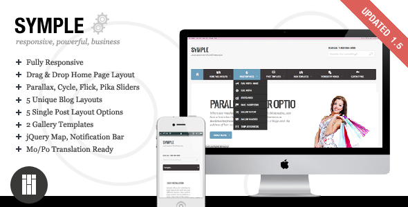Symple - Business, Responsive, WordPress