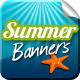 Summertime Banners 网站界面-Graphicriver中文最全的素材分享平台