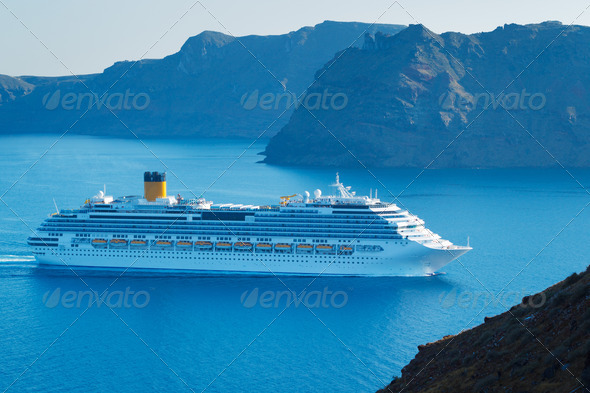 Luxury Cruise Ship - Stock Photo - Images