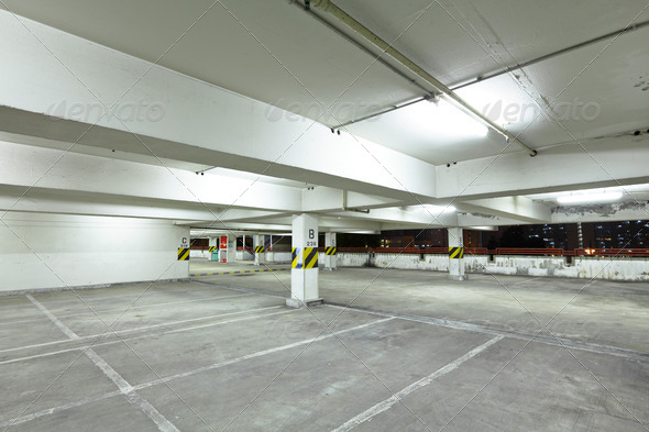 Car park - Stock Photo - Images