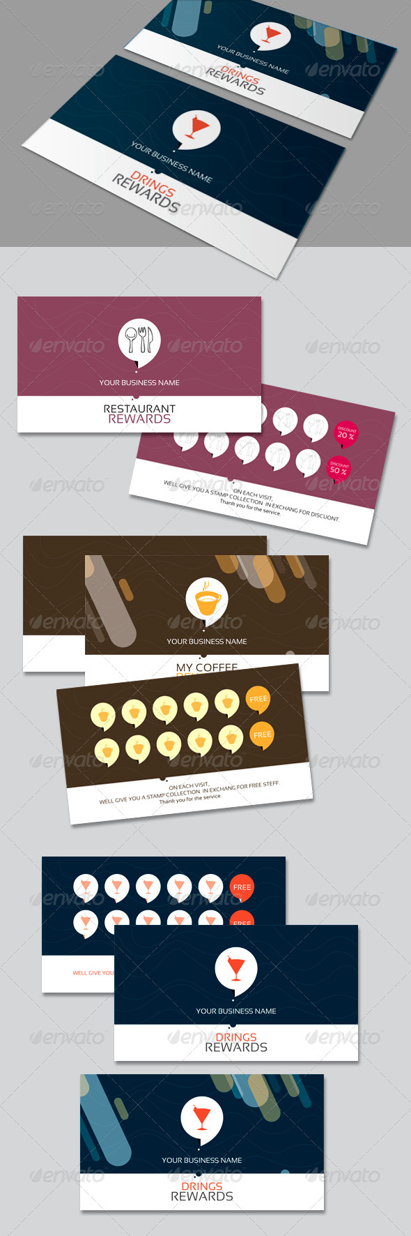 CLEAN REWARDS - Loyalty Cards Cards & Invites