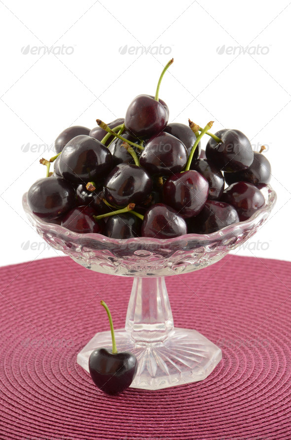 Lapin cherries - Stock Photo - Images