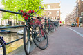 Bicycles in Amsterdam - PhotoDune Item for Sale