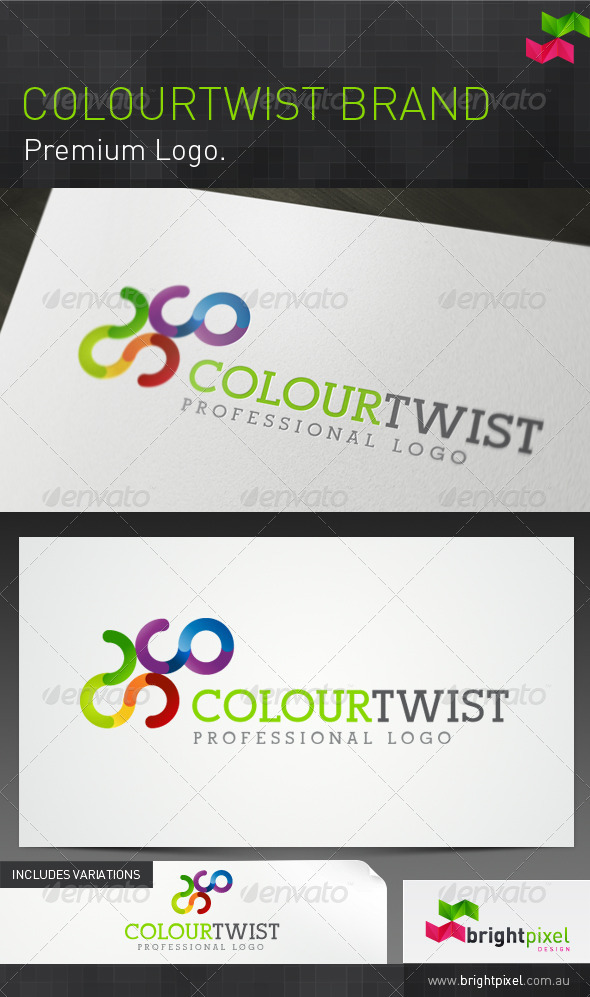 Colourtwist Brand - Abstract Logo Templates