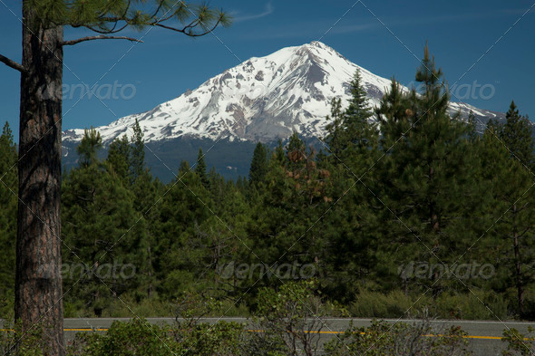 Mount Shasta - Stock Photo - Images