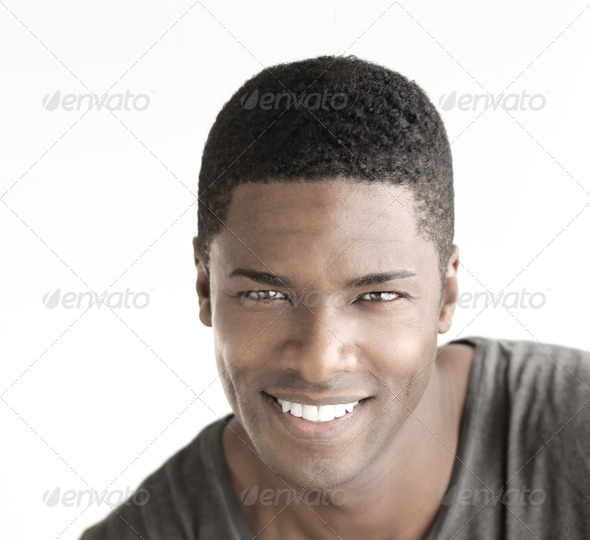 Smiling man - Stock Photo - Images