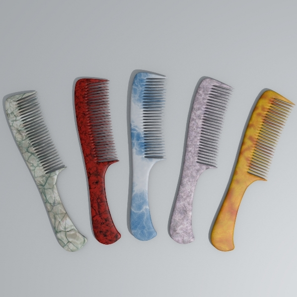 Hair Comb - 3DOcean Item for Sale