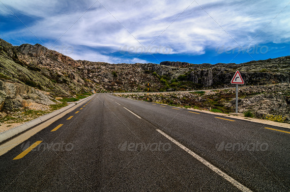 Asphalt road - Stock Photo - Images