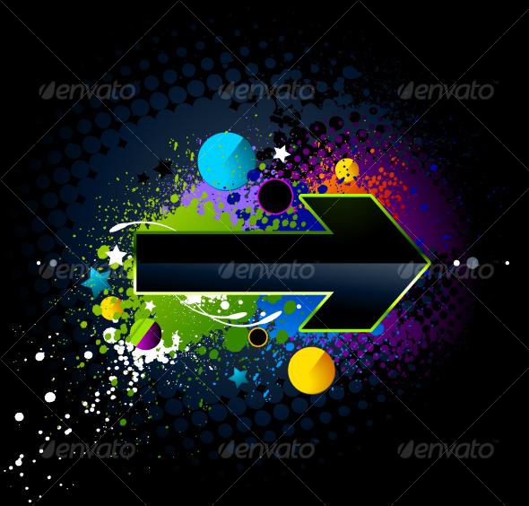 GraphicRiver Glossy arrow 94309
