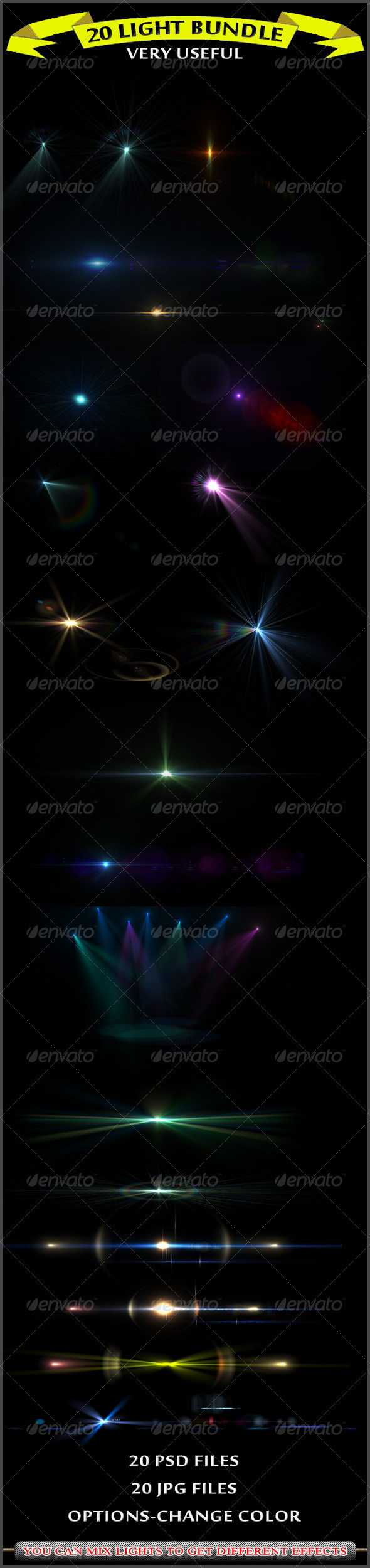 20 Lights - Decorative Graphics