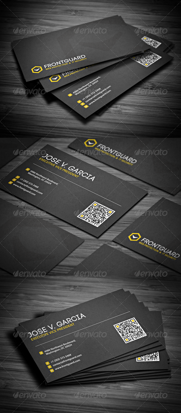 GraphicRiver Clean Modern Business Card 2597619