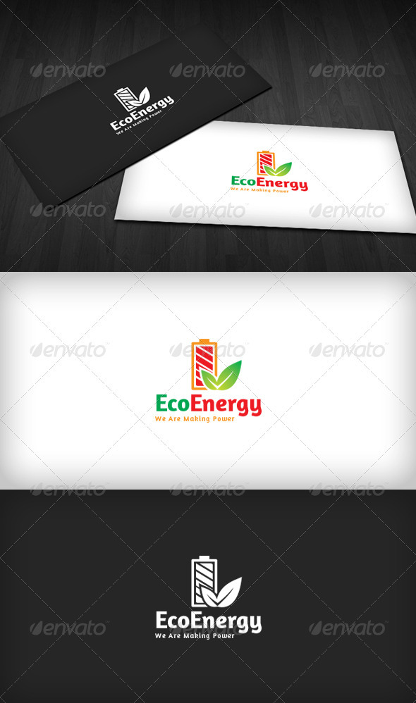 Eco Energy Logo - Nature Logo Templates