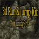 3D Run and Jump Kit for Unity - ActiveDen Item for Sale