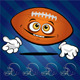 Funny smiling football ball  - GraphicRiver Item for Sale