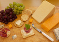Selection of cheese and crackers - PhotoDune Item for Sale