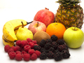 Fruits incuding apple, banana, orange and pear - PhotoDune Item for Sale