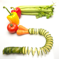 Mixed vegetables spelling out the words, 5 a day - PhotoDune Item for Sale