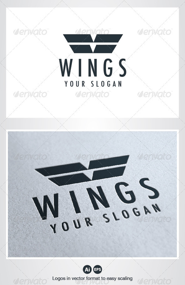 GraphicRiver Wings Logo 2599260