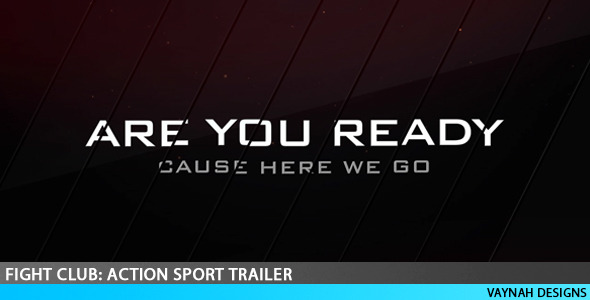 VideoHive Fight Club Action Sport Trailer 2600493