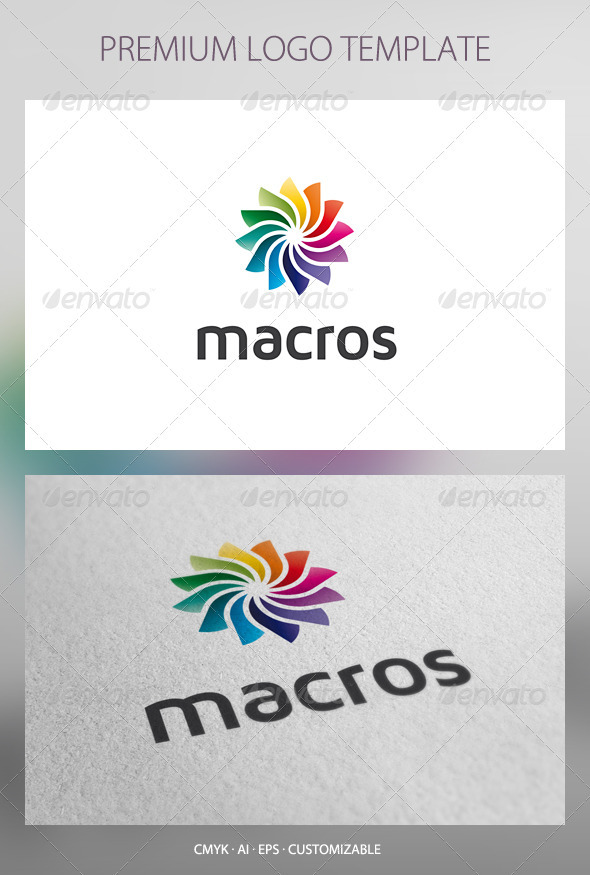 Macros - Abstract Logo Template - Abstract Logo Templates
