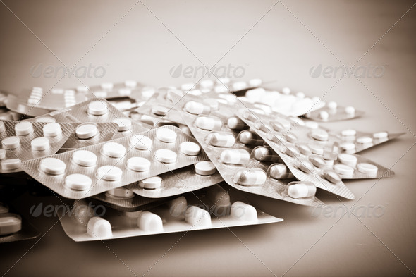 Pills - Stock Photo - Images