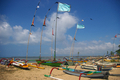 Fishing Boats on the Beach - PhotoDune Item for Sale