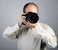 a man with photo camera - PhotoDune Item for Sale