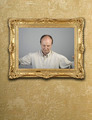 Portrait in gold frame on wall - PhotoDune Item for Sale