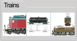 Vector Trains & 3D model locomotive