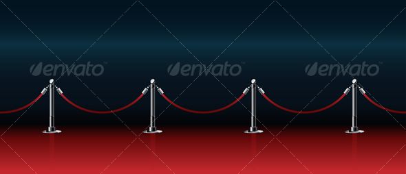 Graphic River Red Honorable Path for Award Ceremonies Vectors -  Objects  Man-made objects 94548