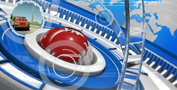 VideoHive Broadcast News Package 2576457