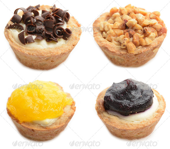Cheesecake Assortment - Stock Photo - Images